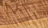 Nußbaum Riegel geflammt